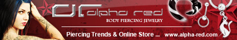 alpha red TrendStore - Dein Piercing Online-Shop